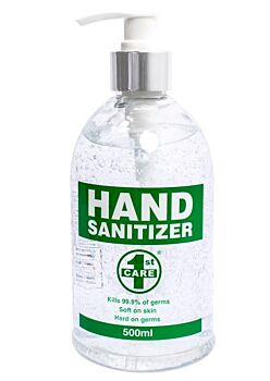 1st Care Hand Sanitizer by 1ST CARE for Unisex (500ml) -COSMETICS