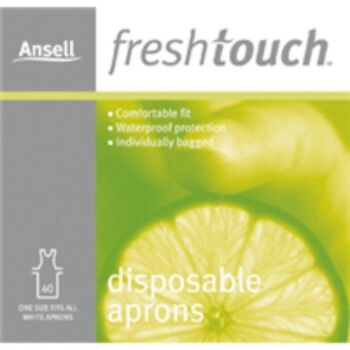 24 X Ansell Aprons Disposable 40 Pack (Approx 1000)