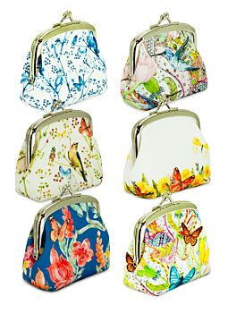 BIRDS and BUTTERFLY COIN PURSE 36PCS