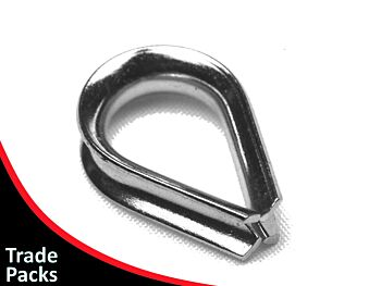 Wire Rope Thimble 2.5mm G316 Stainless Steel