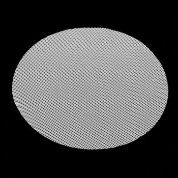 Gourmet Kitchen Silicone Steaming Mat For Steamer Basket Set Of 3 Round White 22Cm