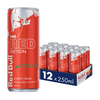 250ml Red Bull Red Edition - 12 Pcs