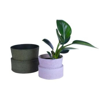 Cone Pot - Bloom Burnished Lilac