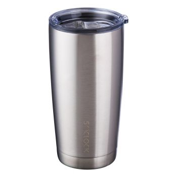 5 O'Clock Stainless Vacuum Insulated Tumbler - 590ml (20oz) - Stainless Silver