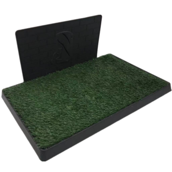 XL Indoor Dog Puppy Toilet Grass Potty Training Mat Loo Pad pad with 1 grass
