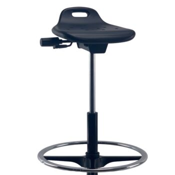 CURRIE Sit-Stand AFRDI Spinlock Footring Drafting Office Chair