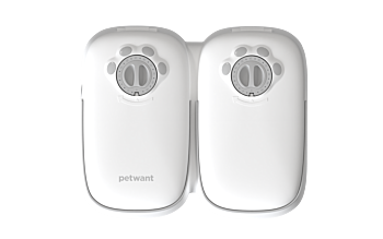 2 Meal Automatic Pet Food Feeder Timer for Dogs, Puppies & Cats