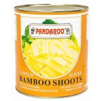 Canned Sliced Bamboo Shoots Slices - 2.95Kg Can