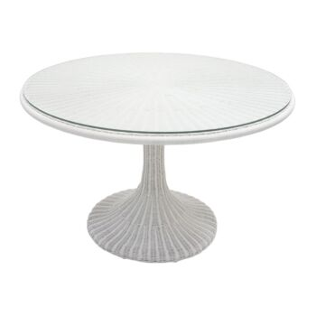 CTR Imports Juliana Dining Table-White