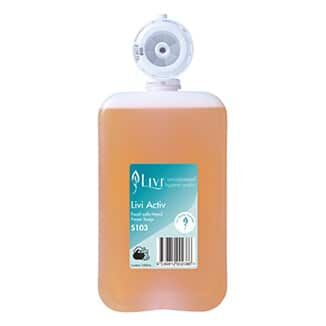 Livi Hand Care Soaps and Sanitisers 1000mL x 6 pods per carton