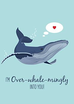 Lovers Card - Humpback Whale