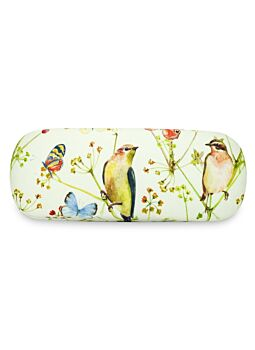 Beautiful Cloth Covered & Lined Glasses Case Nature Park