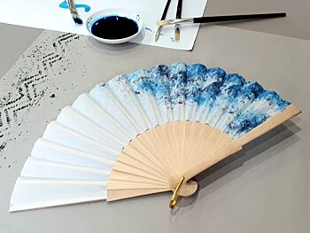 """The """"Impressionist"""" Hand Fan"""