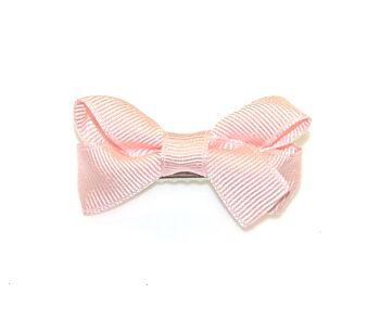 GROSGRAIN SMALL TURNED BOW CLIP