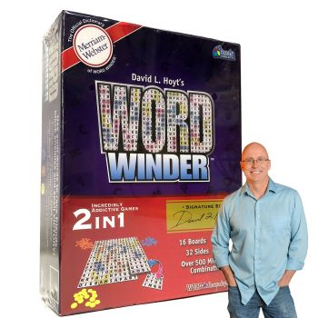 David Hoyts Word Winder Family Game Board Game 2-6 Players