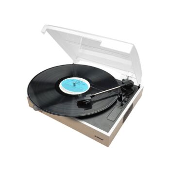 Slim Wooden Style USB Turntable Recorder