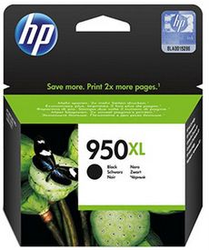 HP No. 950XL Black Ink Cartridge - Estimated Page Yield 2300 pages - CN045AA
