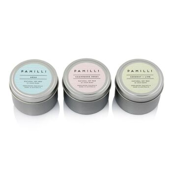 Tinned Candle - Salted Pink Grapefruit