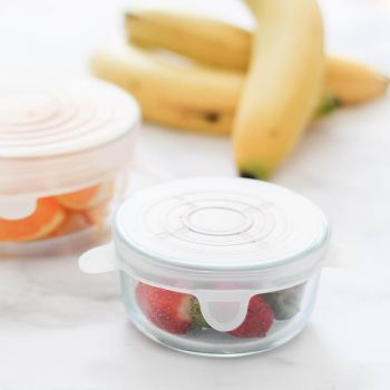 Round Silicone Bowl Covers 6 Pack