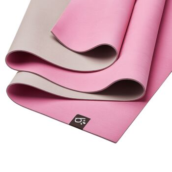 Beinks b'EARTH natural rubber yoga mat - Heather Pink