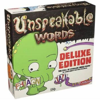 Playroom Entertainment Unspeakable Words Deluxe Card Game
