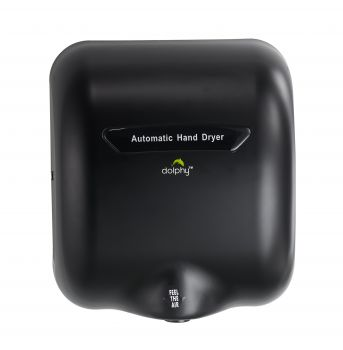 Dolphy Automatic European Style Hand Dryer 1800W - Black