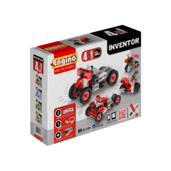 Inventor 4 Models Motorbikes | By  Engino