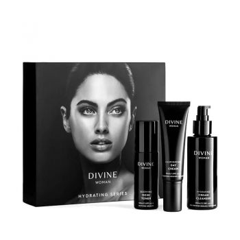 Divine Woman Hydrating Series Package (Includes toner, day cream & cleanser)