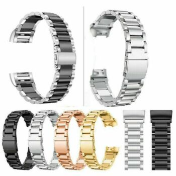 For Fitbit Versa / Versa 2 Stainless Steel Watch Wrist Band Metal Strap New