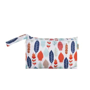 Pouch Wet Bag - Red Leaves