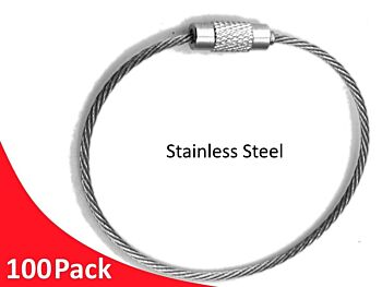 Tag Wire 2.0mm 180mm 7x7 G316 Stainless Steel MIL SPEC