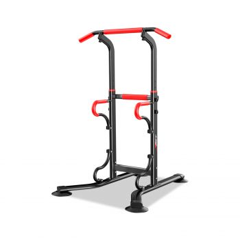 4-in-1 Chin Up Pull Up Power Tower Multi-Function Station Home Gym