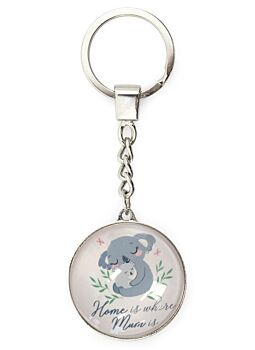 Great For Mothersday Or Xmas Keyring Home Is Where Mum Is Great Gift For Mum