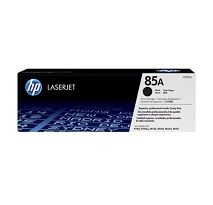 HP No. 85A Black Toner Cartridge - Estimated Page Yield 1600 pages - CE285A