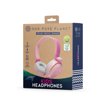 Our Pure Planet Children Headphones (GIRL PINK)