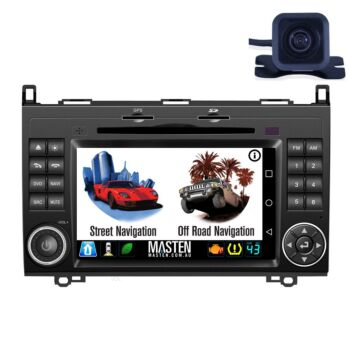 For Mercedes-Benz A B Class Sprinter Viano Vito For Volkswagen VW Crafter 05-13 GPS Bluetooth Car Player Navigation Radio Stereo DVD Inc CAM