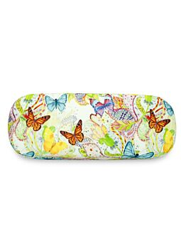 Beautiful Cloth Covered & Lined Glasses Case Butterfly Magic