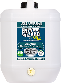 Enzyme Wizard Drain Odour Eliminator and Maintainer