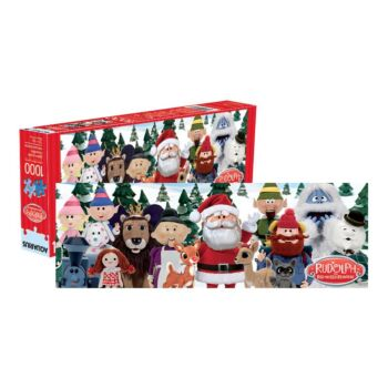 Rudolph the Red-Nosed 1,000 pc Slim Puzzle