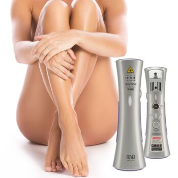 Silhouette Portable Laser Hair Remover Permanent Epliation System Body Face Home