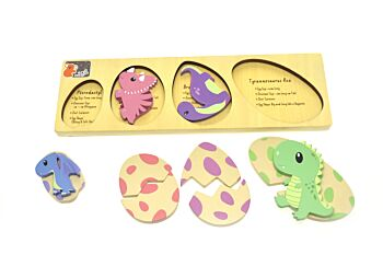 DINOSAUR EGG PUZZLE WITH FACT CHECK