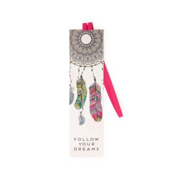 Bookmark With Elastic Band - Dreams