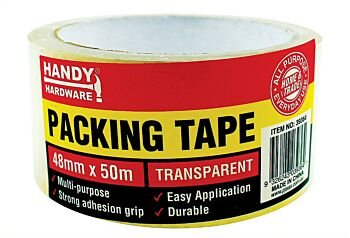 Packaging Tape Clear 50m x 48mm