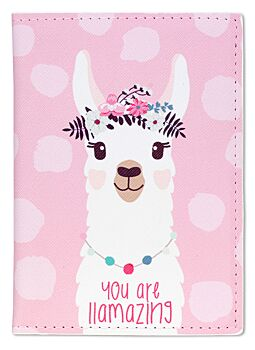 Passport Cover Pink Llama Great To Protect The Kids Passports