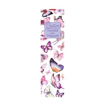 Bookmark With Elastic Band - Butterfly