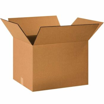 10 Pieces x Kraft Paper Box Corrugated Packaging For Shipping / Moving Big Sizes