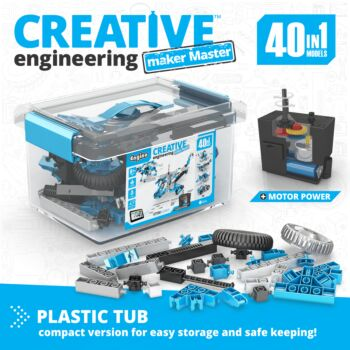 Creative Engineering 40 In 1 Motorized: Maker Master | By  Engino