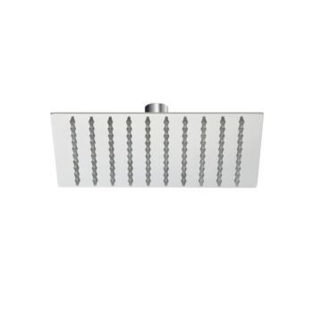 """8"""" Square Rain Shower Head Rainfall for Gooseneck Wall Arm / Twin Taps / Mixer Tap WELS"""