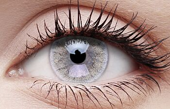 Frothy Ice Coloured Contact Lenses