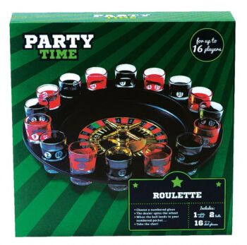 PARTY TIME DRINKING ROULETTE